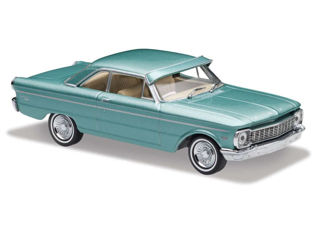 1965 XP Falcon Coupe – Velvet Green Metallic