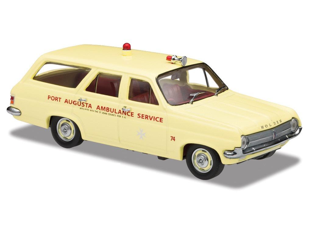 1965 HD Wagon – Standard- Port Augusta Ambo – Crocus Cream – Red