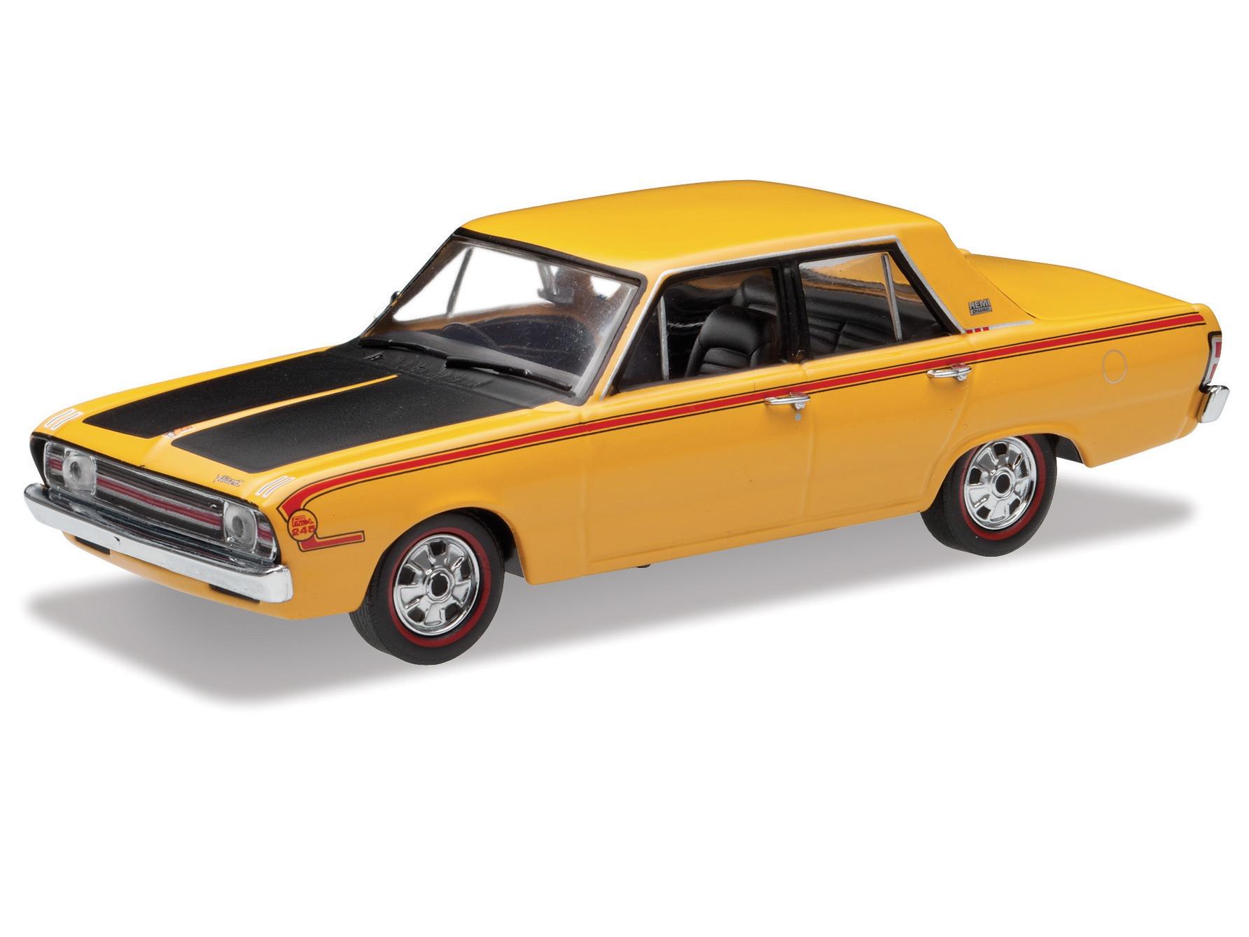 1970 Chrysler Valiant VG Pacer – Hot Mustard