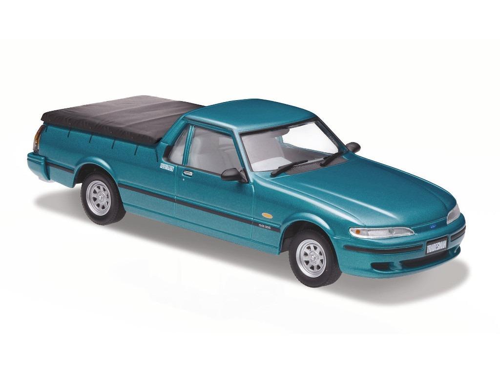 1996 Ford Falcon XH Utility – Reef Green