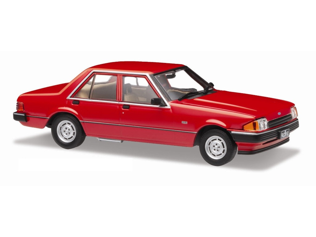 1982 Ford XE Falcon – Monza Red