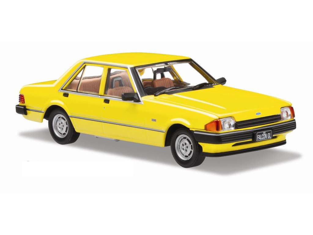 1982 Ford XE Falcon – Citrus Yellow