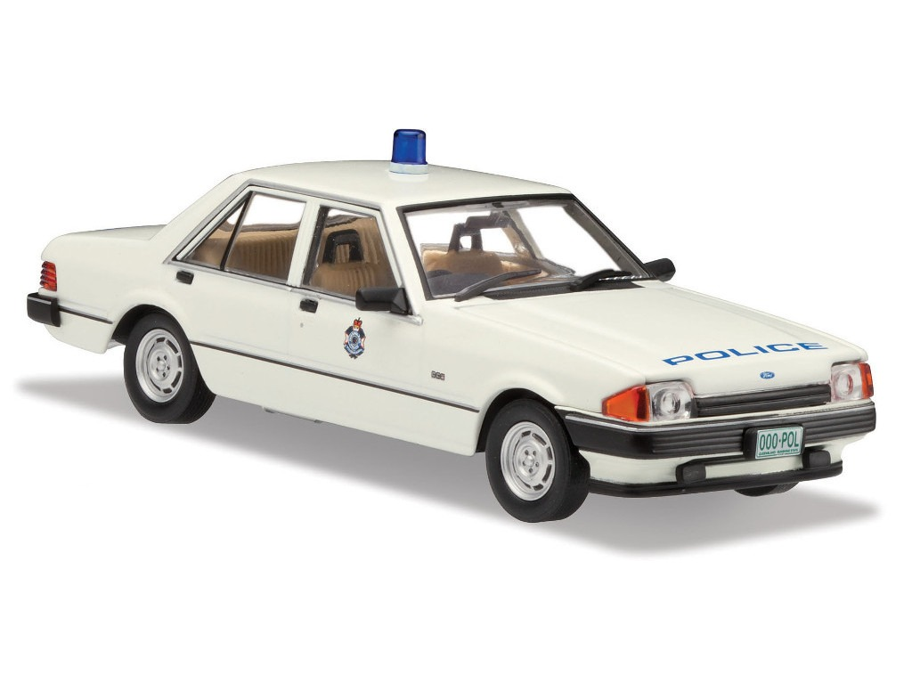 1982 Ford XE Falcon – Police Car – White