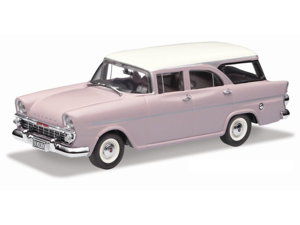 1961 EK Holden Wagon Special – Cameo Beige / Snowcrest White