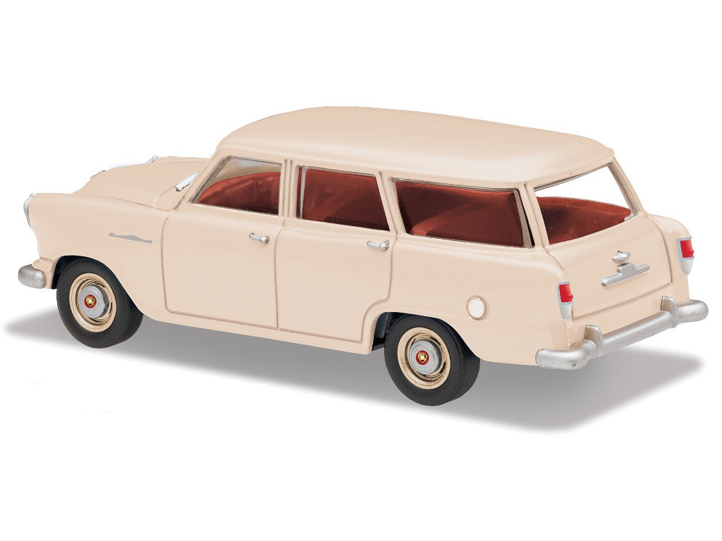 FE Standard Station Wagon – Standard – Frankston Cream / Fall Red Interior
