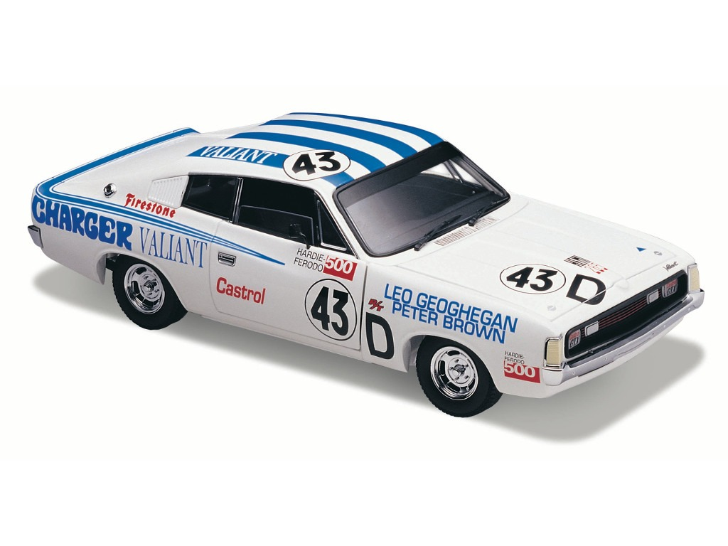 1971 VH Valiant Charger E/38 R/T – White Racing Livery