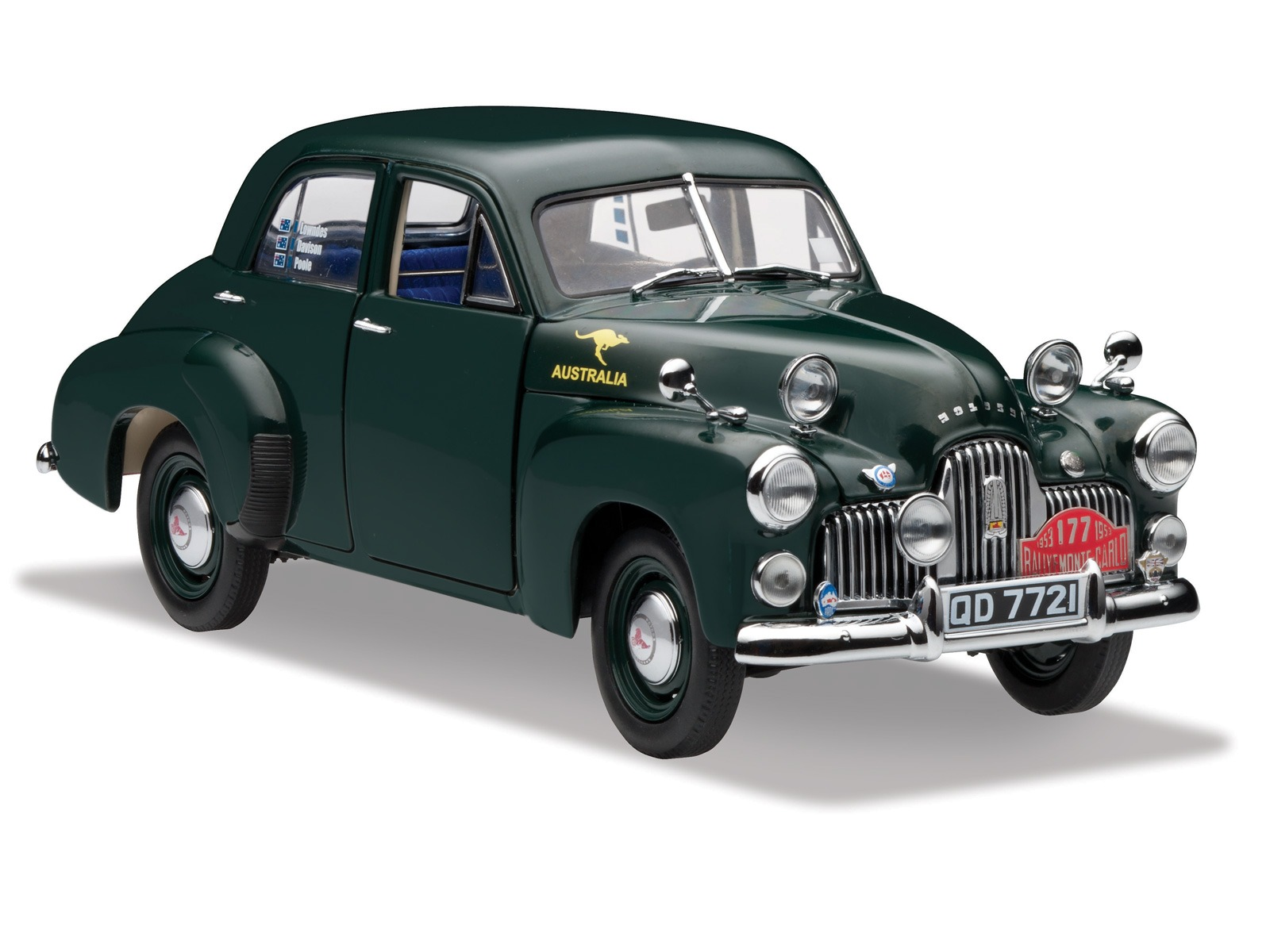 48 / 215 – Monte Carlo Rally – British Racing Green