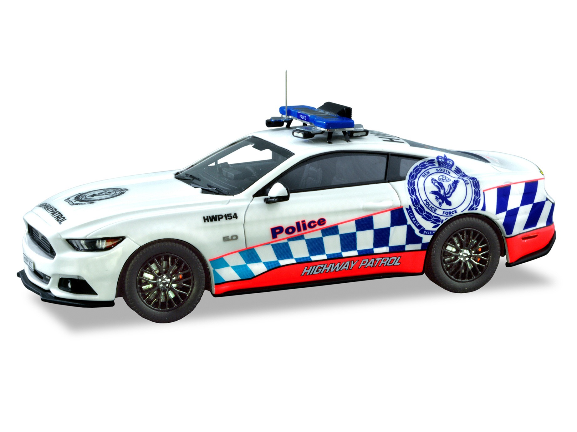 Ford Mustang GT NSW HWP – White