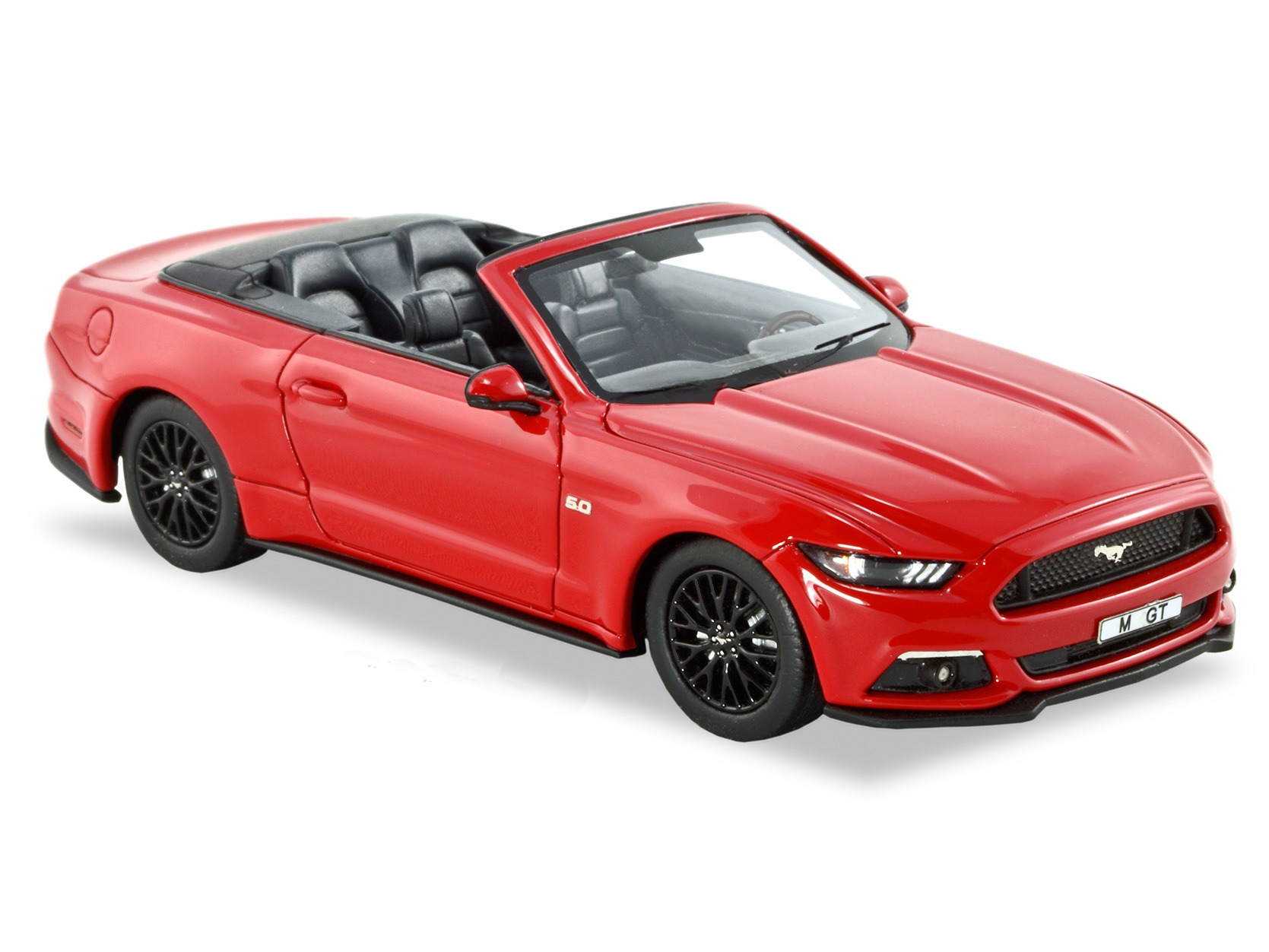 2016 Ford Mustang GT Convertible – Race Red – LHD