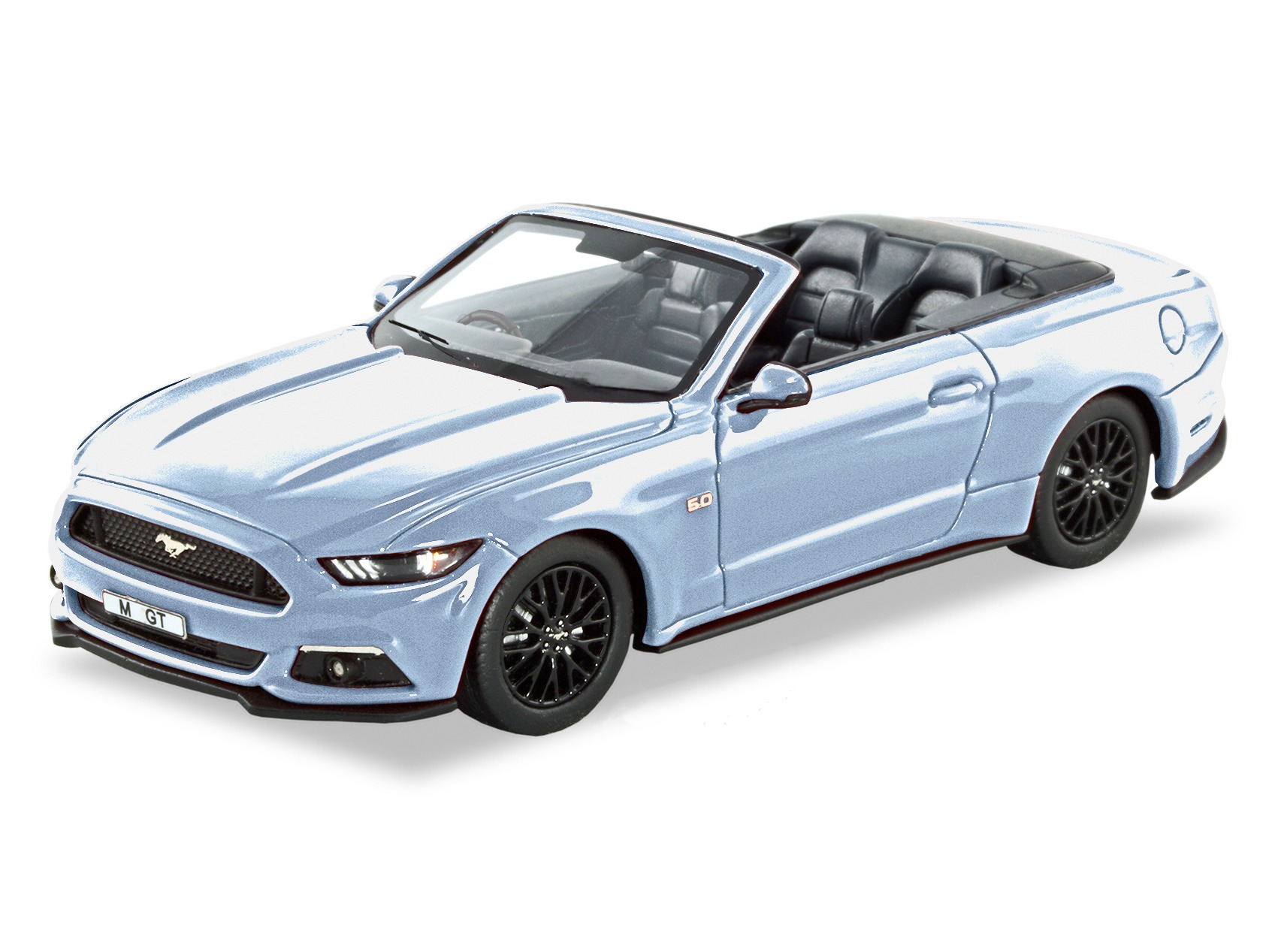 2016 Ford Mustang GT Convertible – Ingot Silver