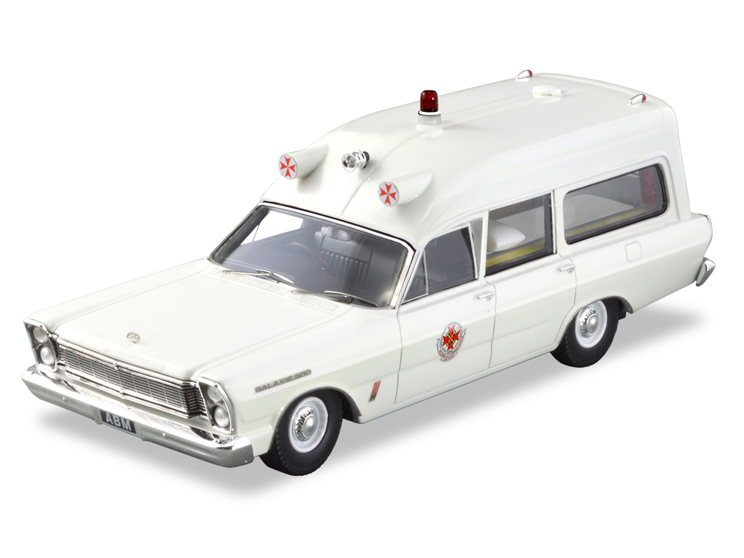 1965 Ford Galaxie 500 Ambulance – White
