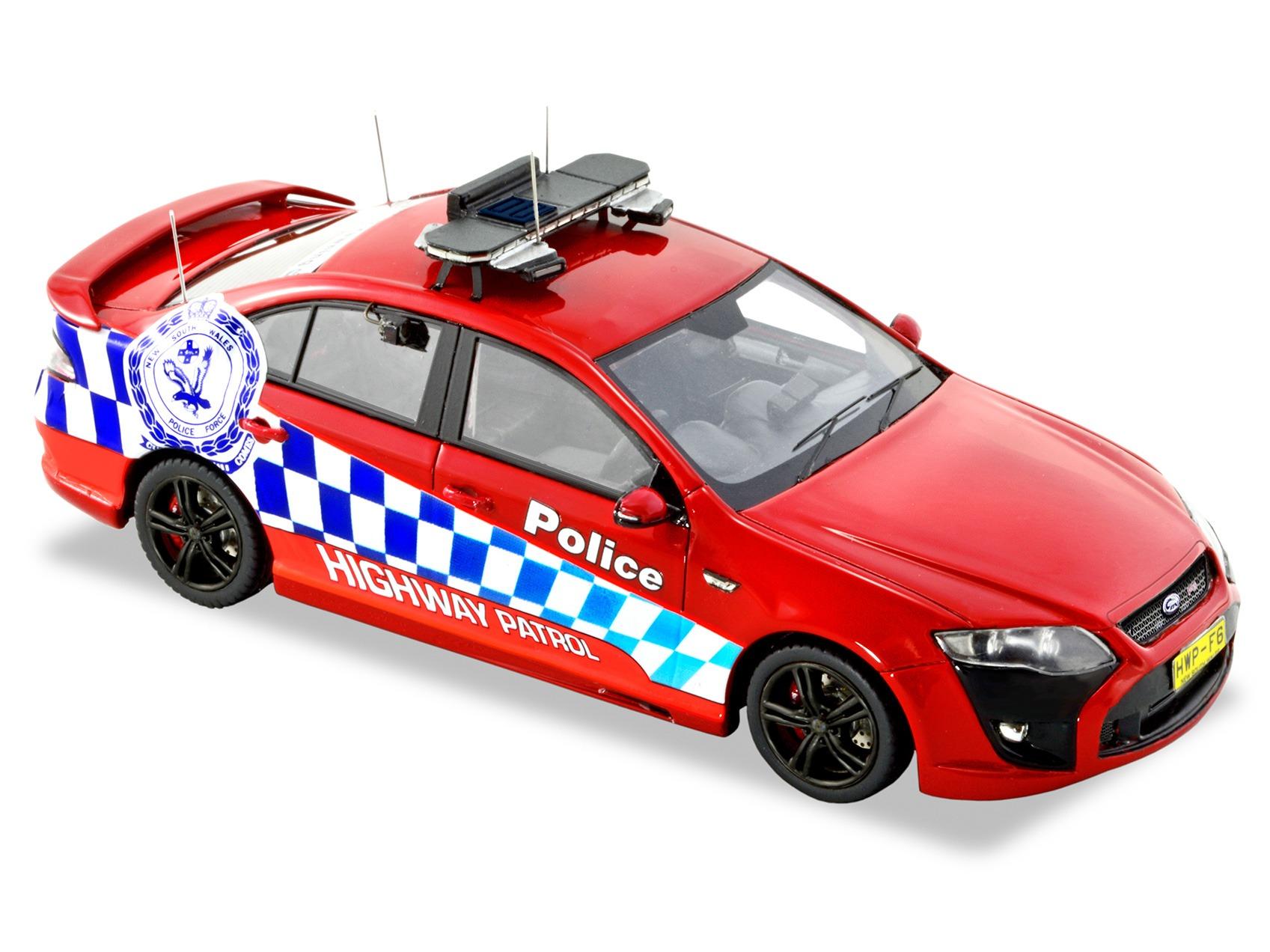 FPV F6 NSW HWP – Red