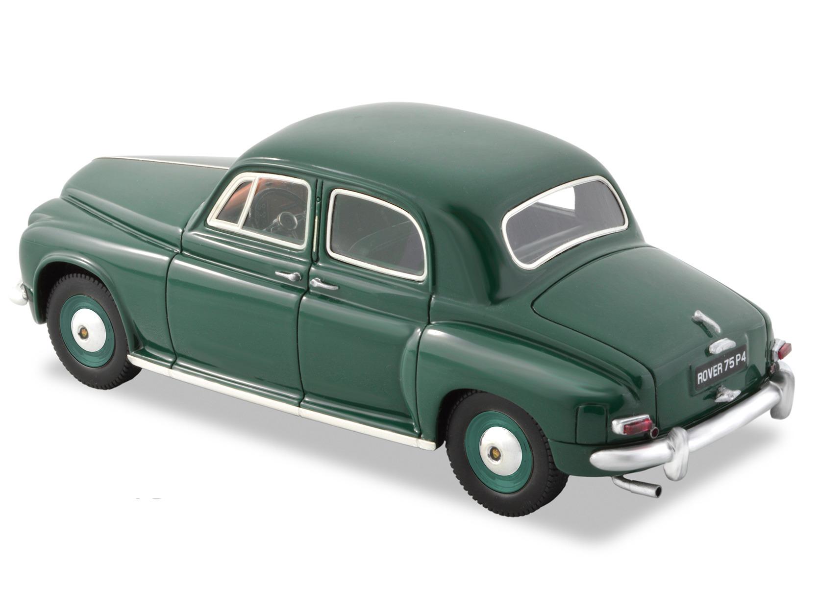 1952 Rover 75 P4 – LHD – British Racing Green
