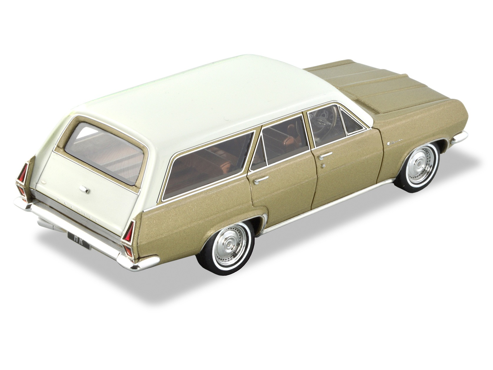 1967 HR Station Wagon – Gold / White