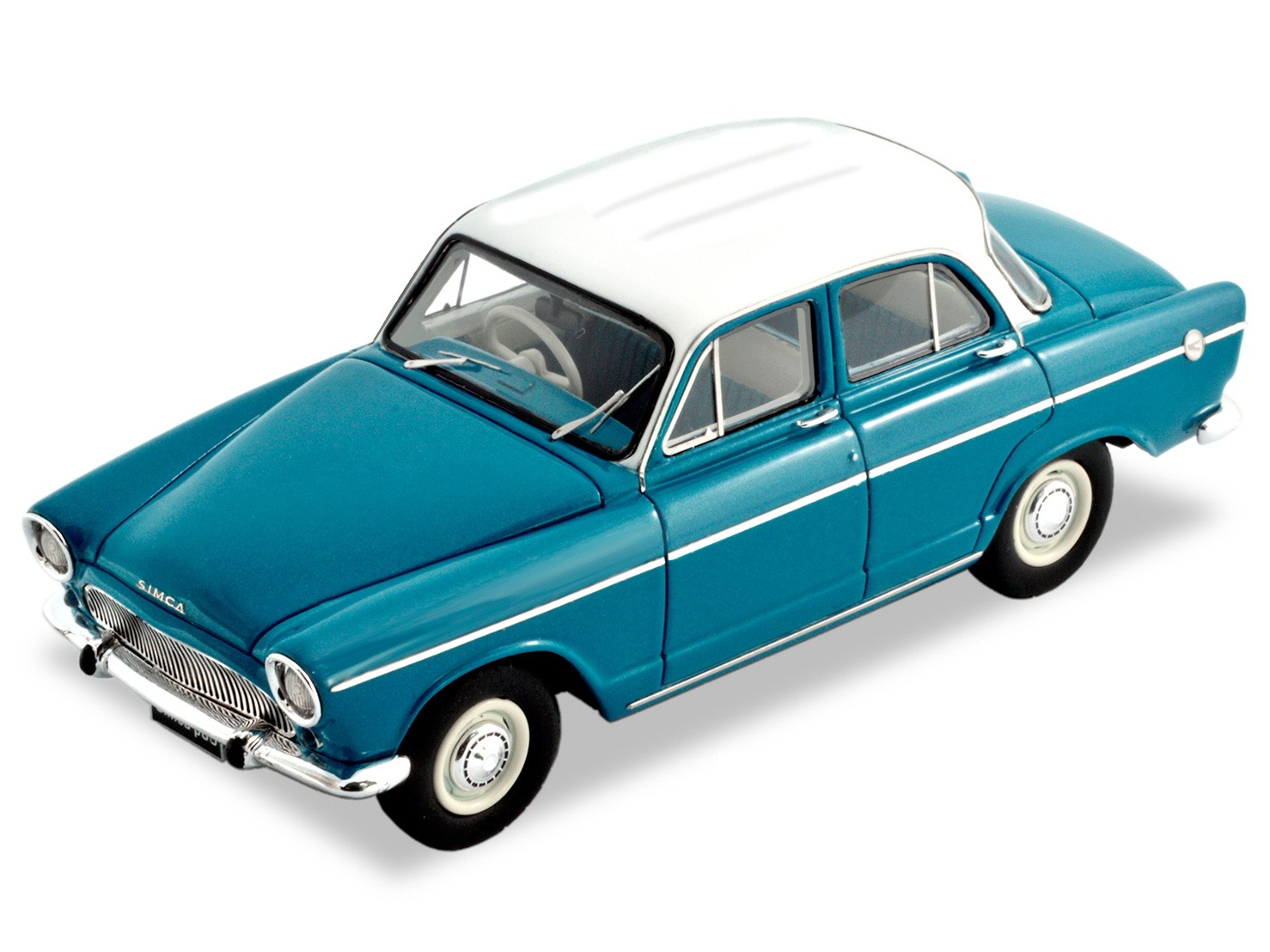 Simca Aronde P60 Sedan – Blue / White