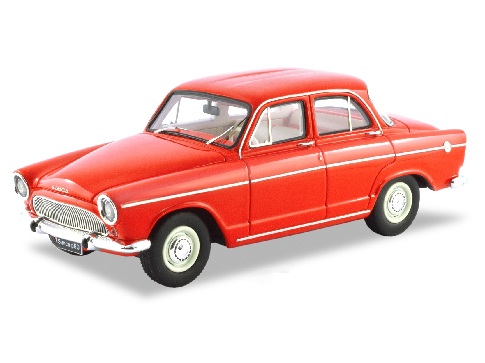Simca Aronde P60 Sedan – Red