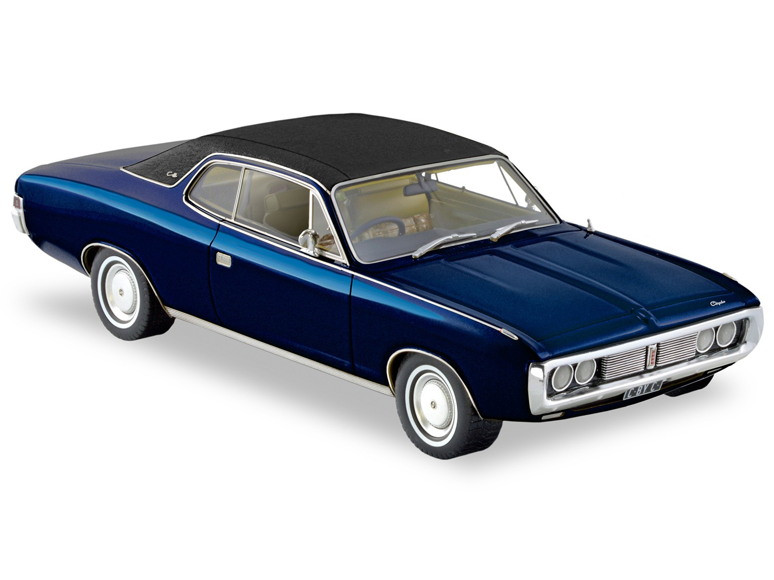 1972 Chrysler By Chrysler Coupe – Regal Blue Metallic