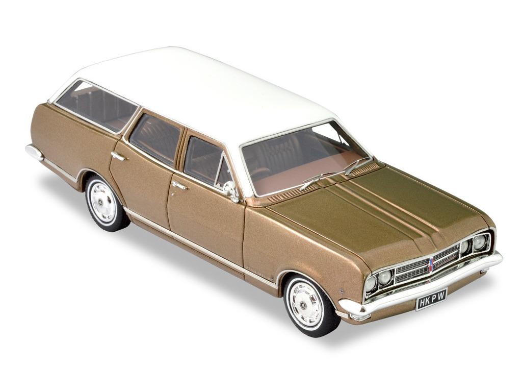 1968 HK Premier Wagon – Inca Gold / Kashmir White