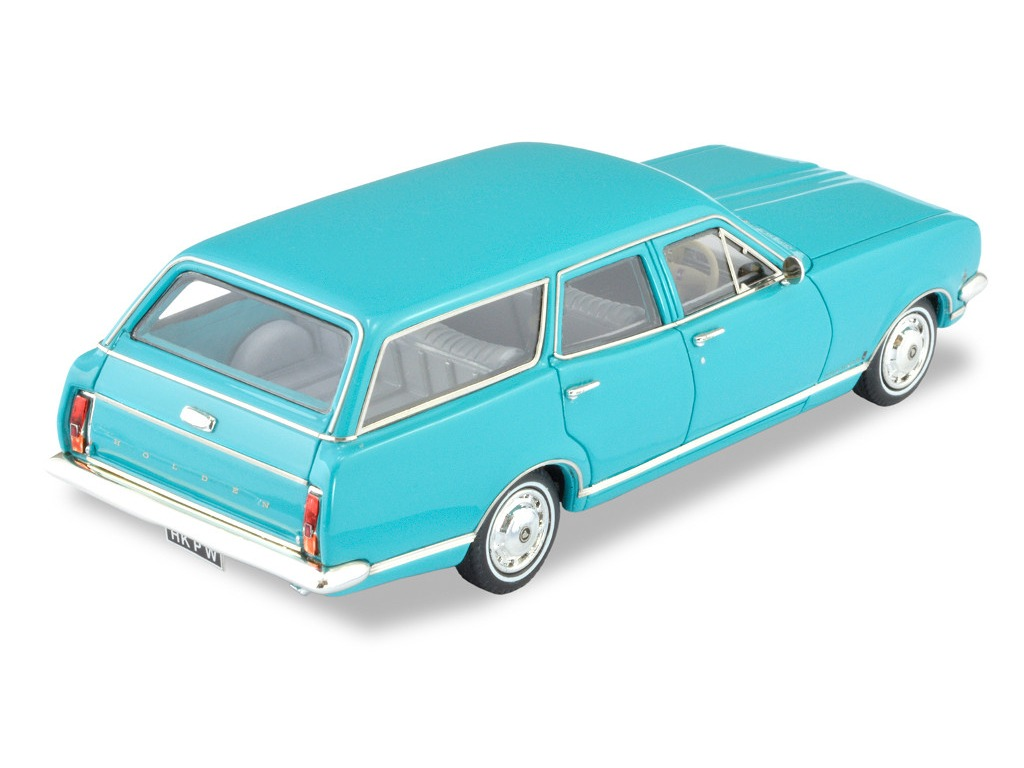 1968 HK Premier Wagon – Turquoise