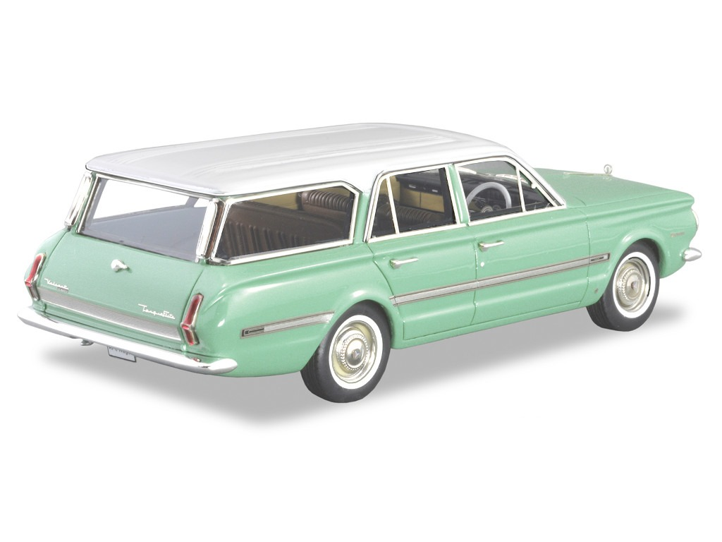 1966 Chrysler AP6 Regal Safari Wagon – Green / White Roof