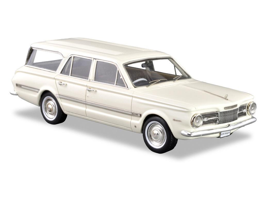 1966 Chrysler AP6 Regal Safari Wagon – White