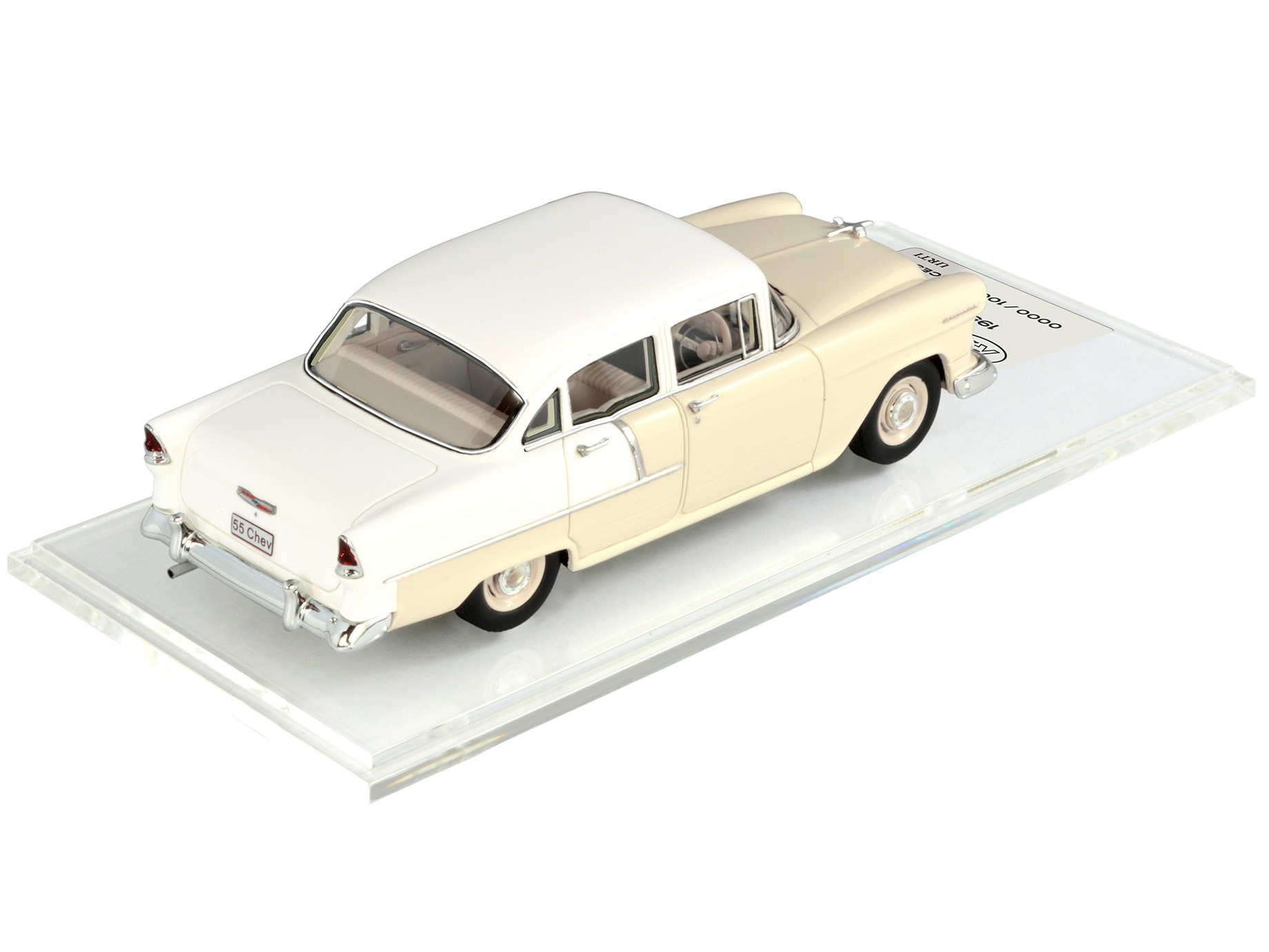 1955 Chevy – Shoreline Beige / India Ivory