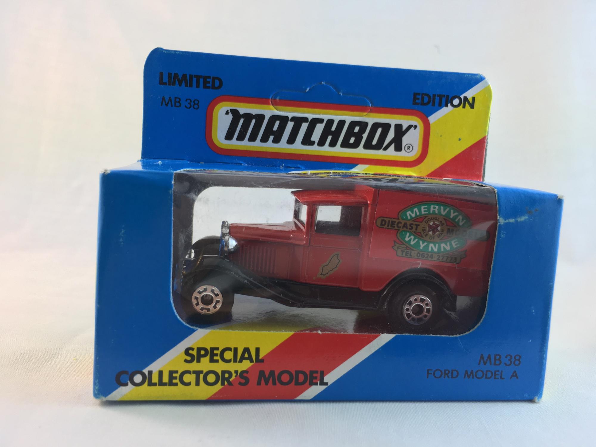 Matchbox-Mervyn Wynne
