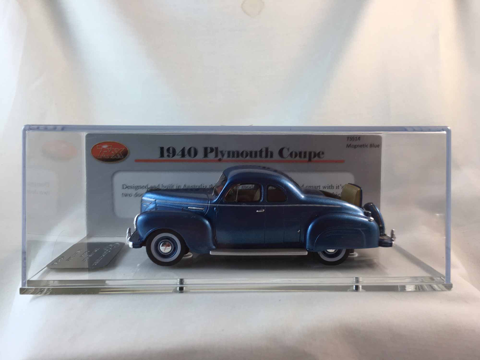 1940 Plymouth Coupe – Magnetic Blue