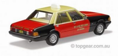 1980 FORD XD Falcon GL Taxi –  De Luxe Red Cab