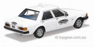1980 FORD XD Falcon GL Taxi – Black & White Cabs