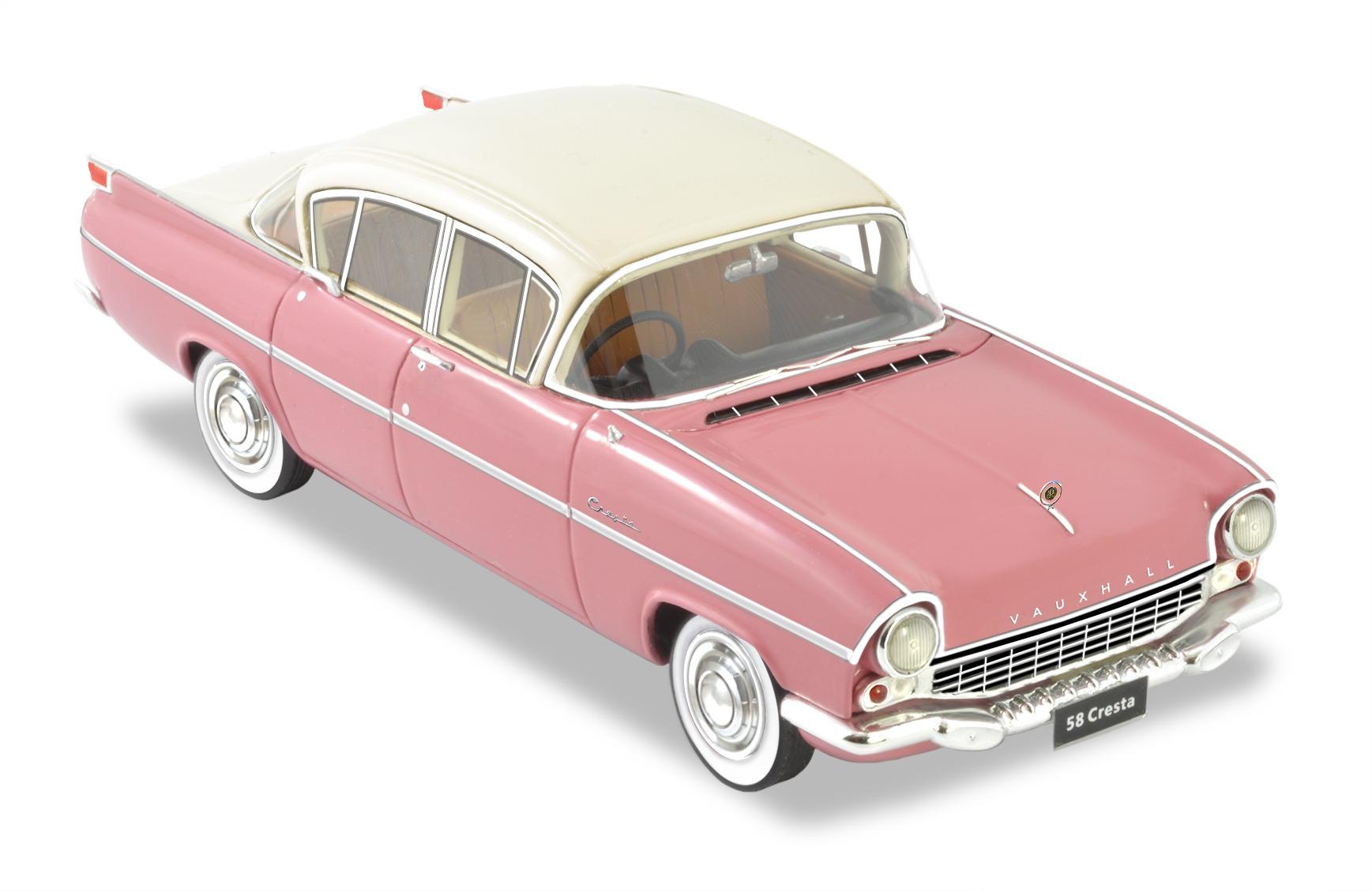 1958-59 Vauxhall Cresta – Terraglow/Adobe Beige.