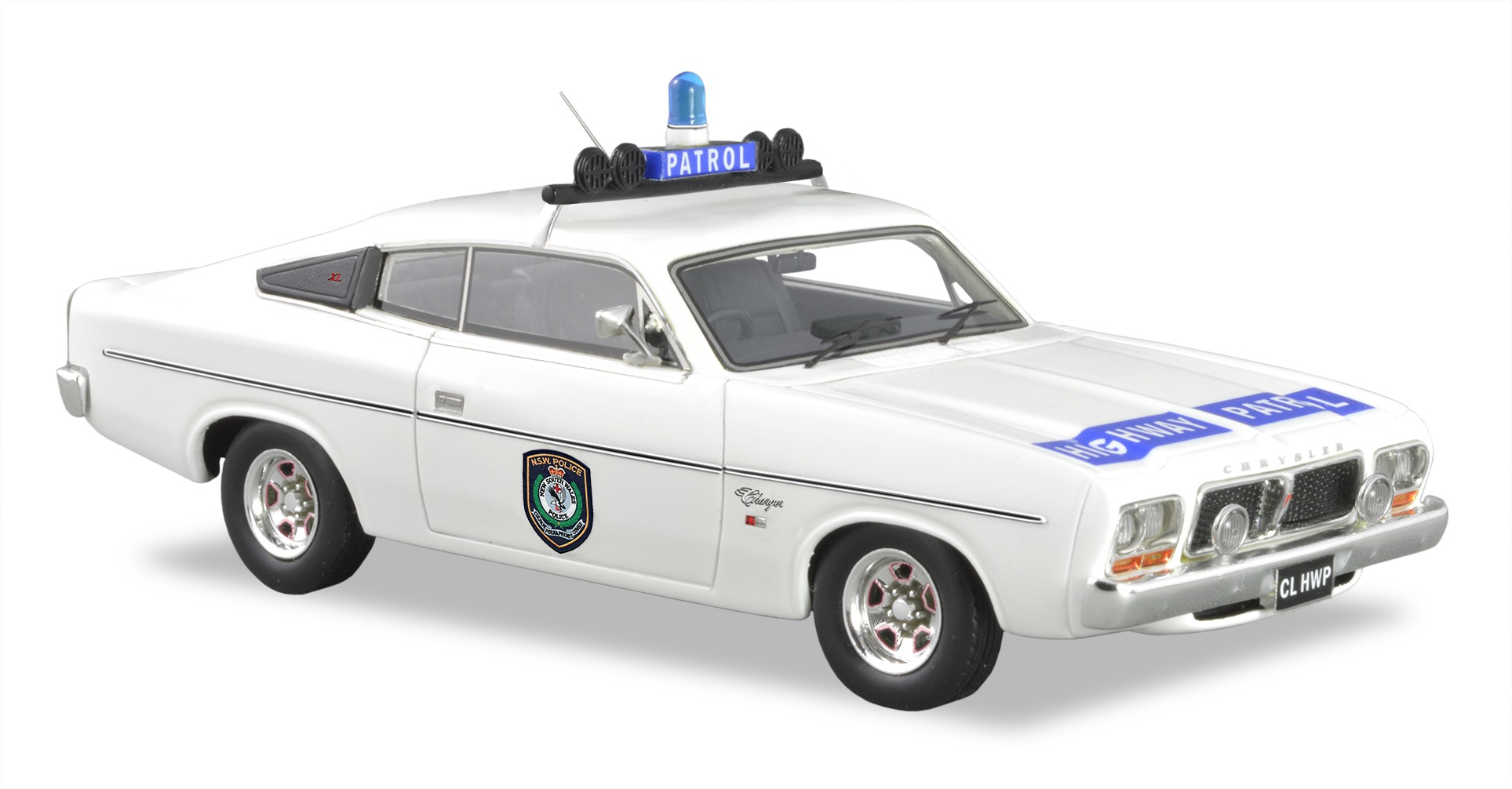 1976 CL Valiant K16 NSW Highway Patrol – White