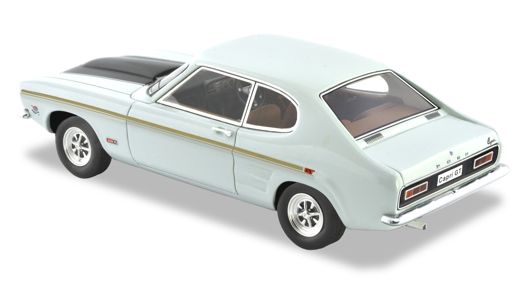1970 Ford Capri GT V6 – Diamond White