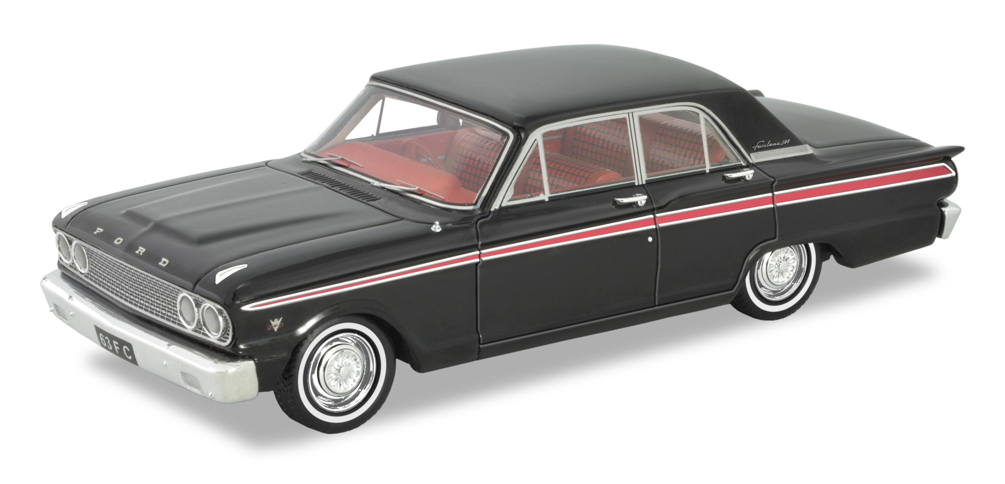 1963 Ford Fairlane Compact – Black/Red