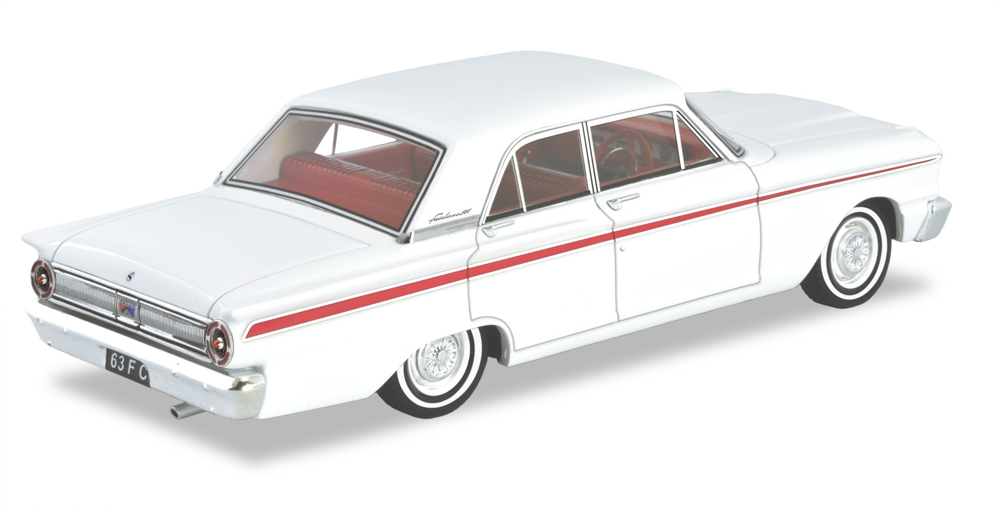 1963 Ford Fairlane Compact – White