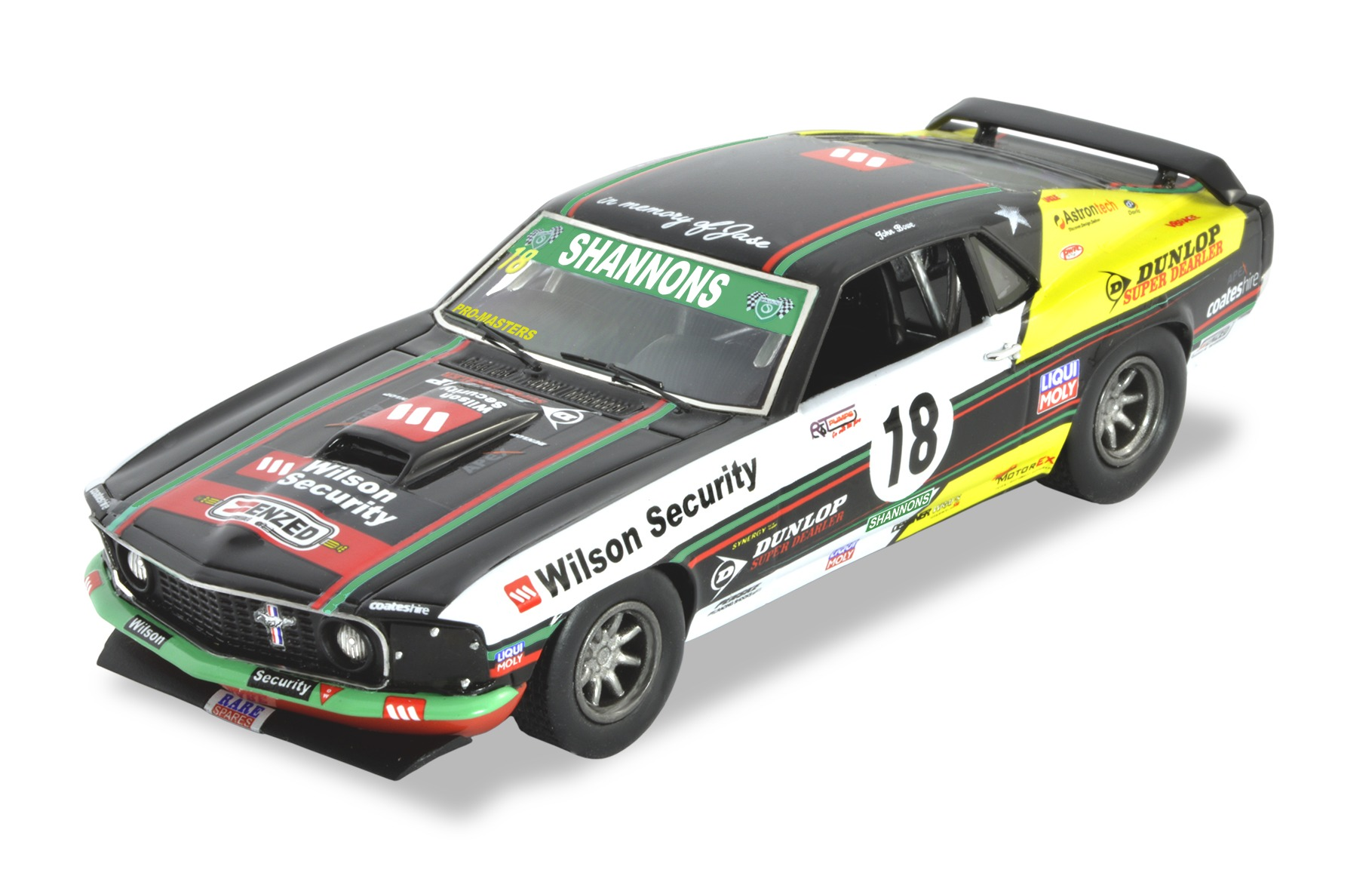 1969 MUSTANG – TCM John Bowe (Black & Yellow)