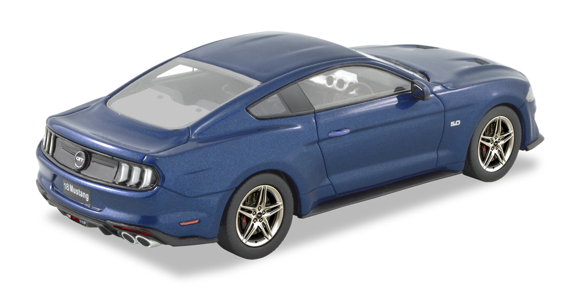 2018 Ford Mustang – Kona Blue.