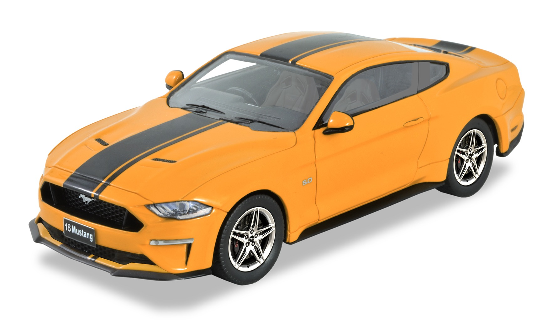 2018 Ford Mustang – Orange Fury.