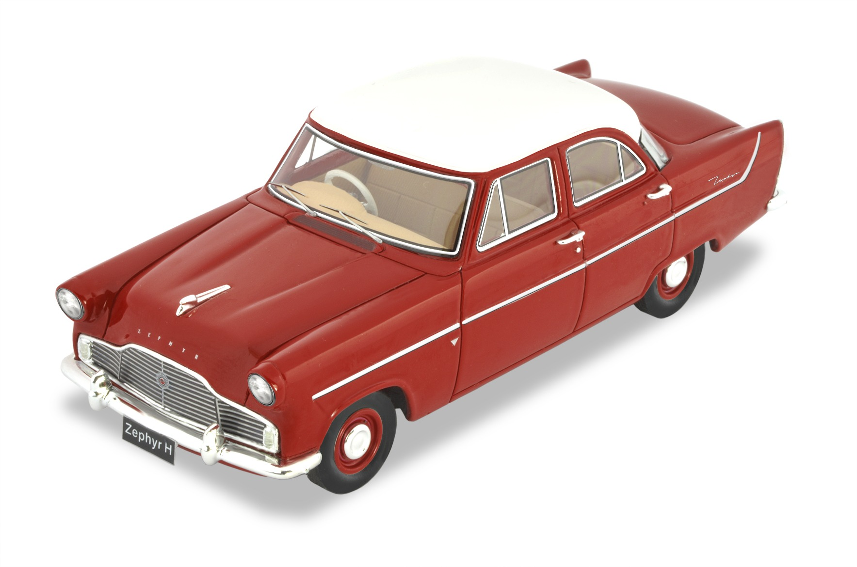1958 Zephyr MKII High Line (RED)
