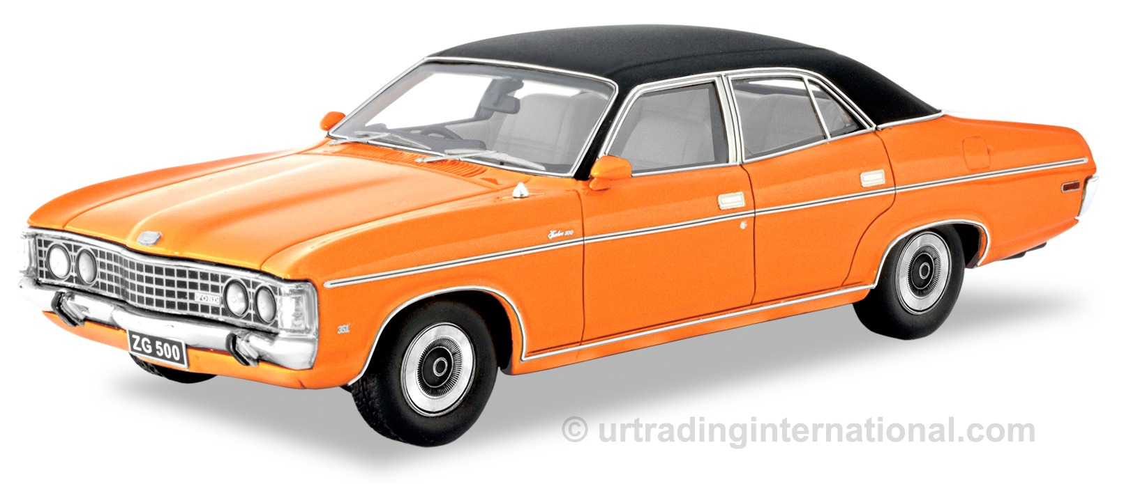 Ford ZG Fairlane 500 – Orange / Black Roof