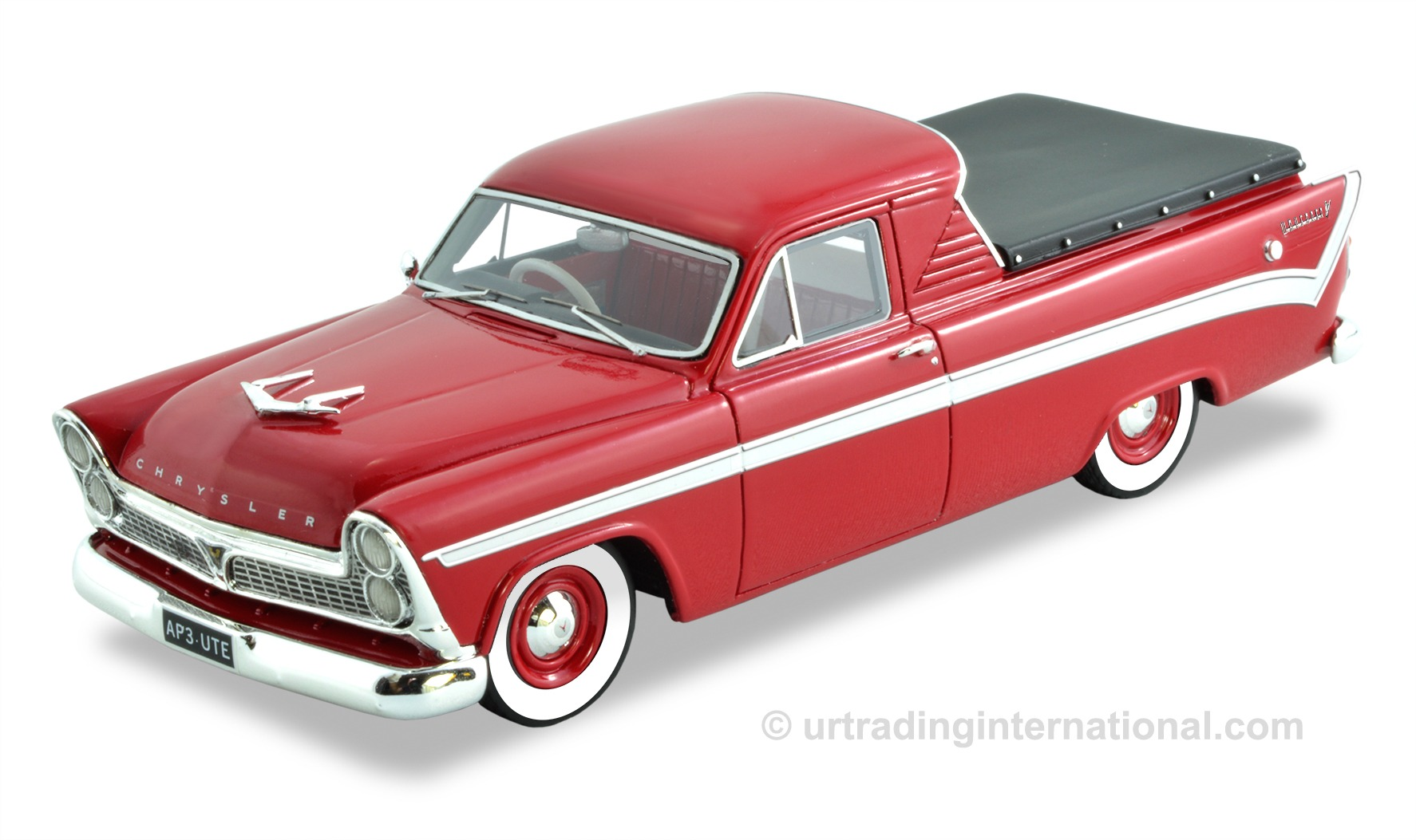 Chrysler Royal AP3 Wayfarer Ute – Red / White