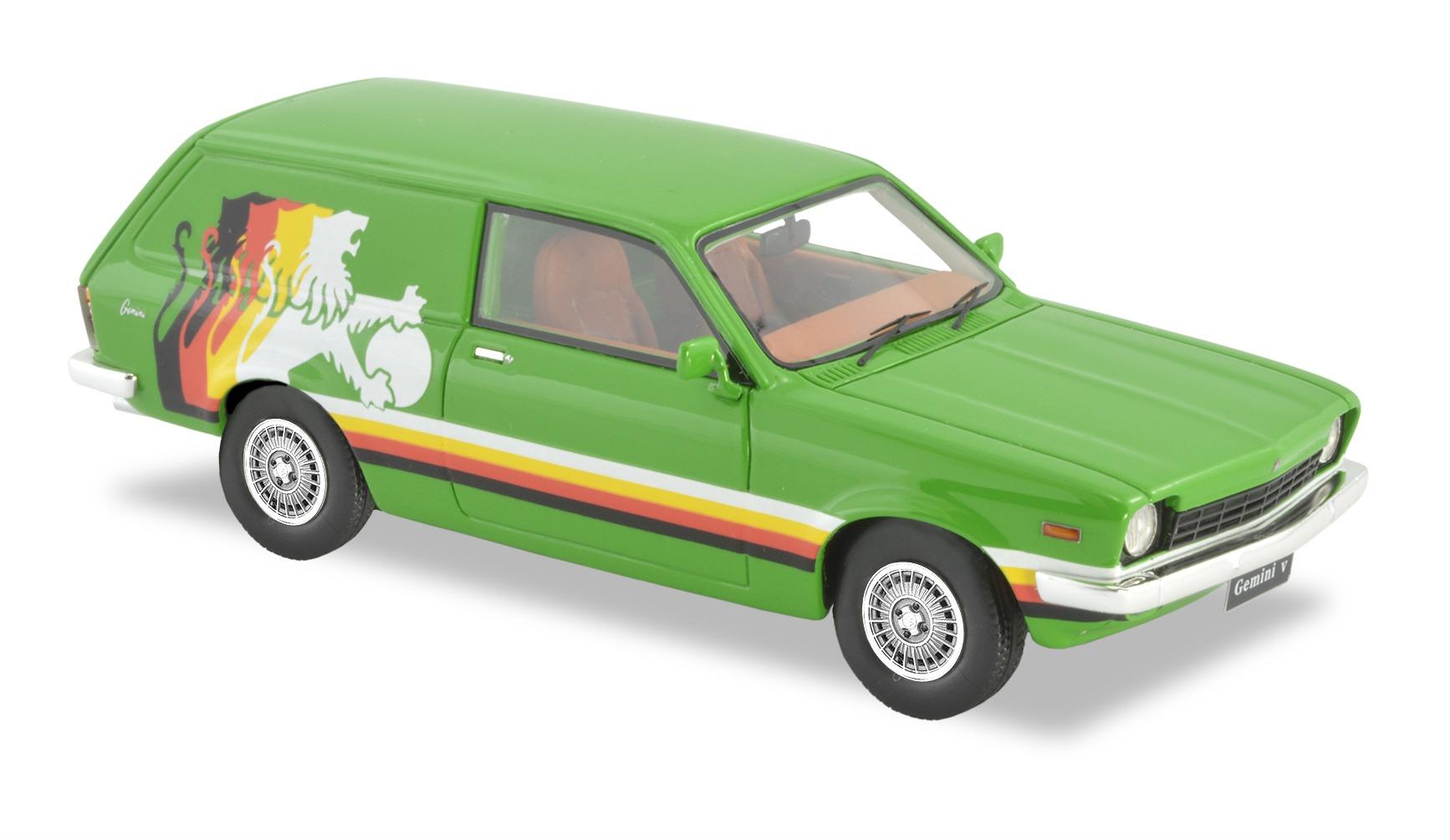 1979 TD Gemini Panel Van – Green,