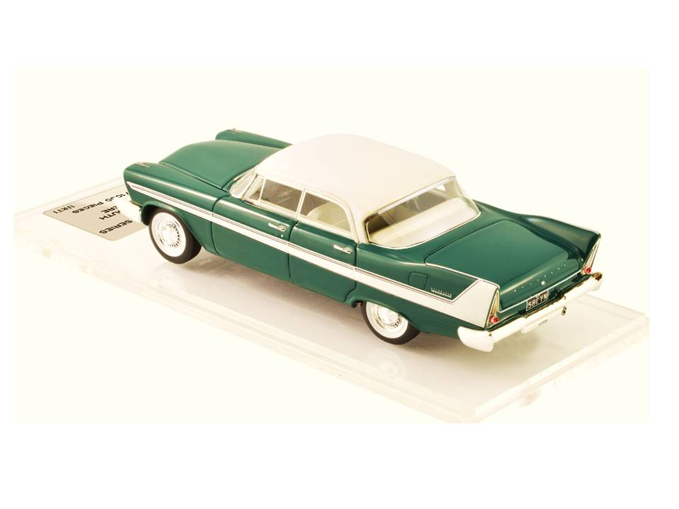 1958 Plymouth Belvedere Hardtop 4 Door – Ivy Green/White