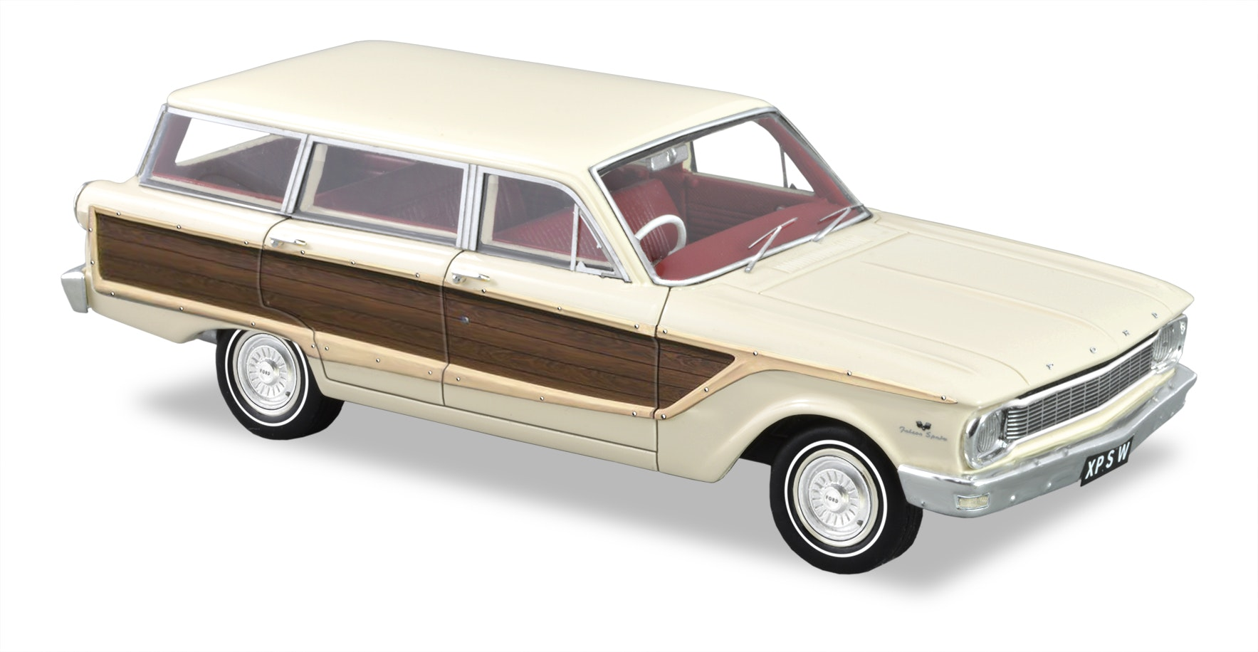 1965 Ford XP Falcon Squire Station Wagon – Arctic White