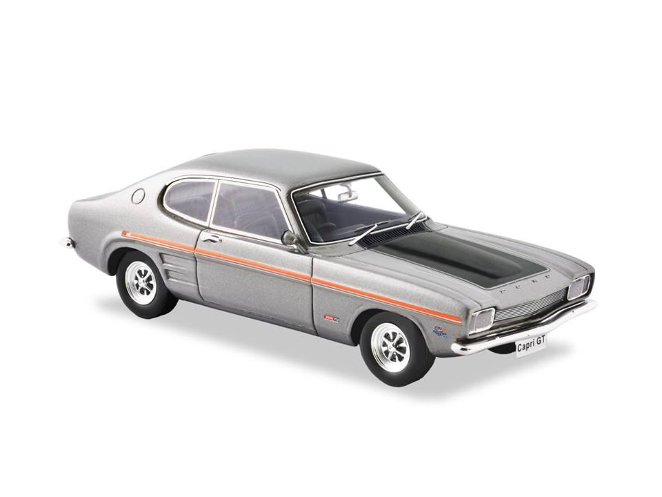 1970 Ford Capri GT V6 – Silver Fox