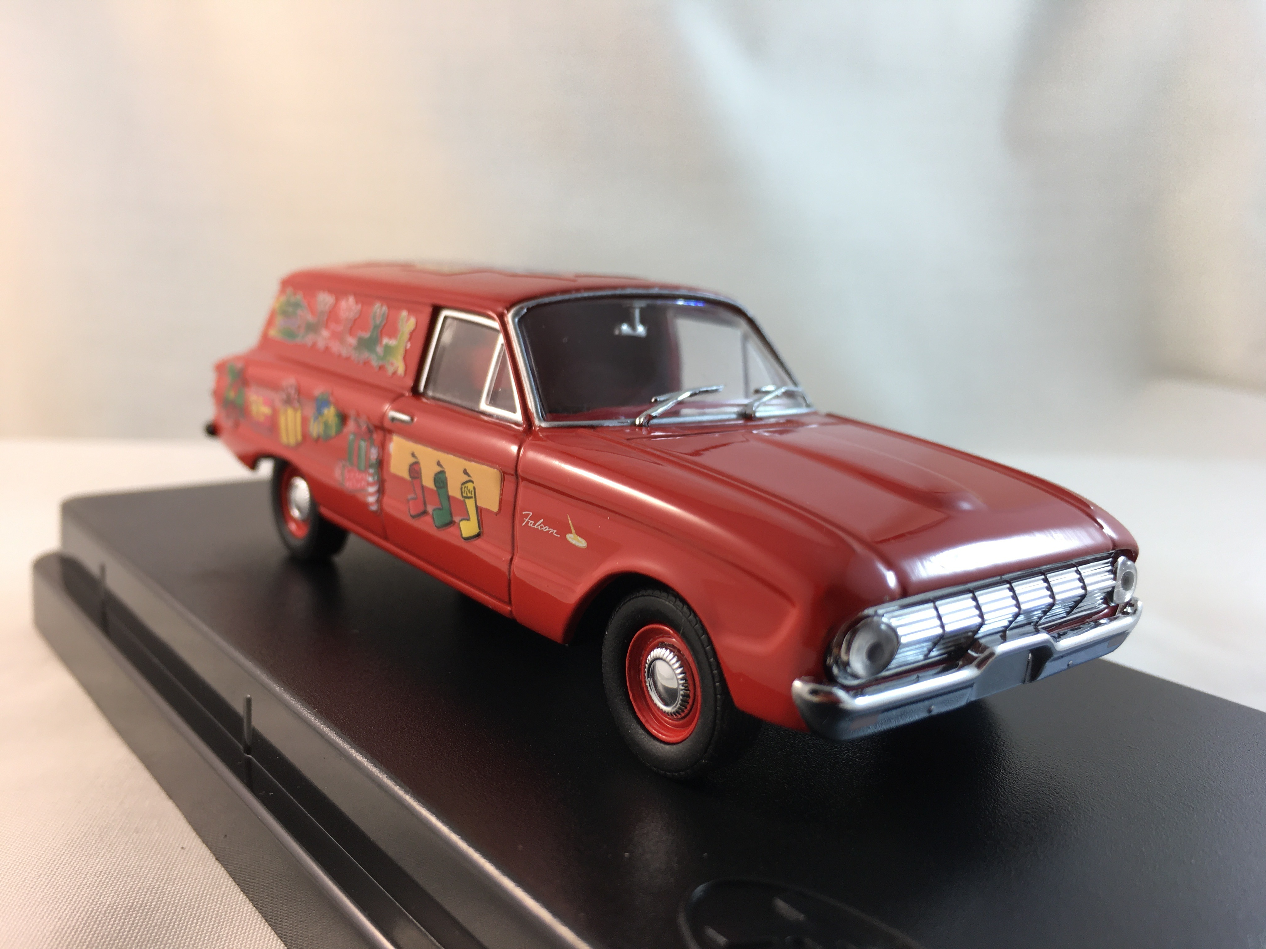 1962 Ford XL Falcon Van Christmas 2013