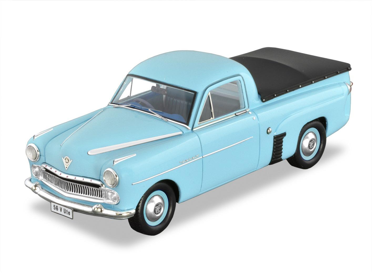 1956 Vauxhall Velox Ute – Blue.