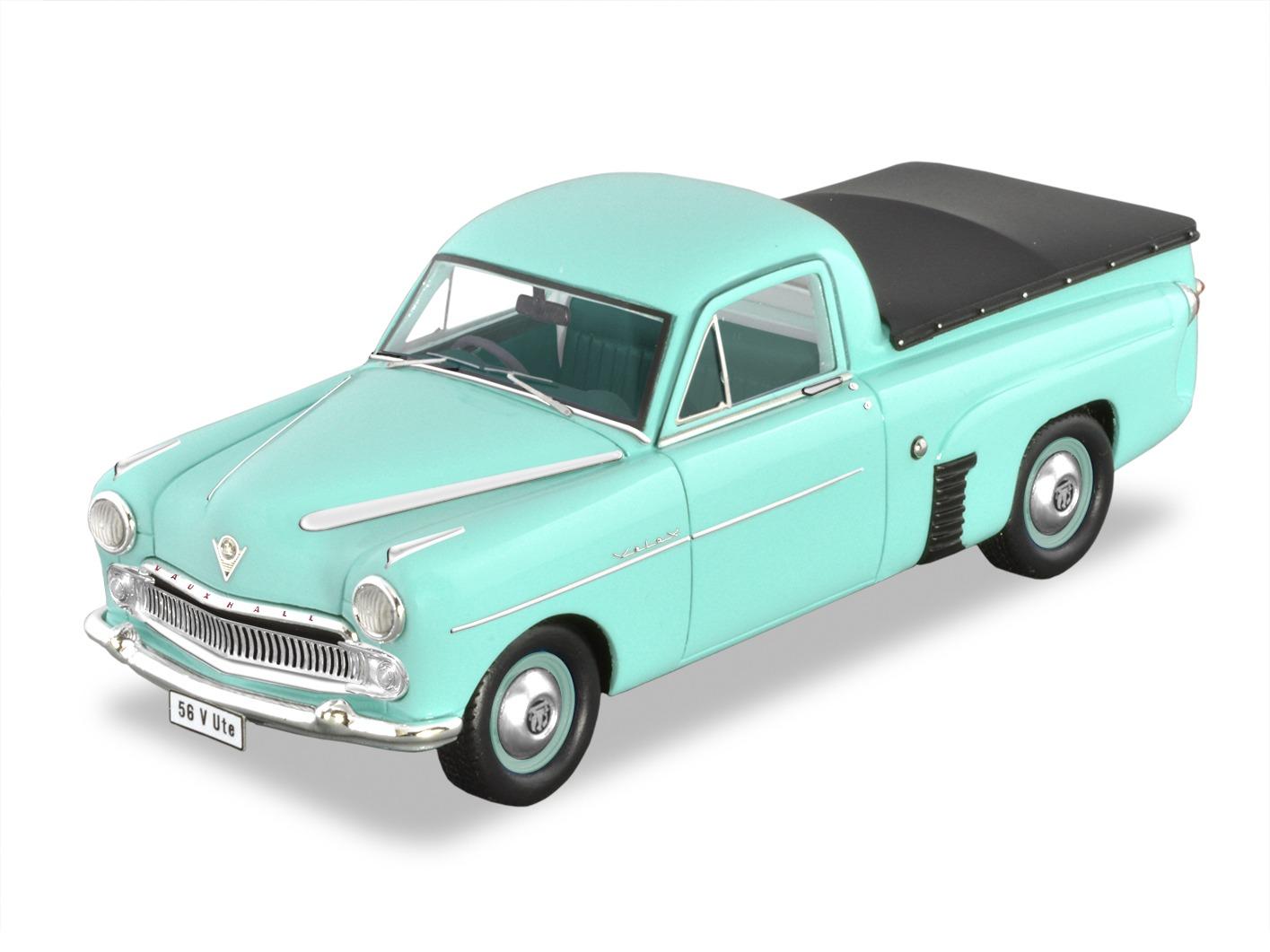1956 Vauxhall Velox Ute – Green.