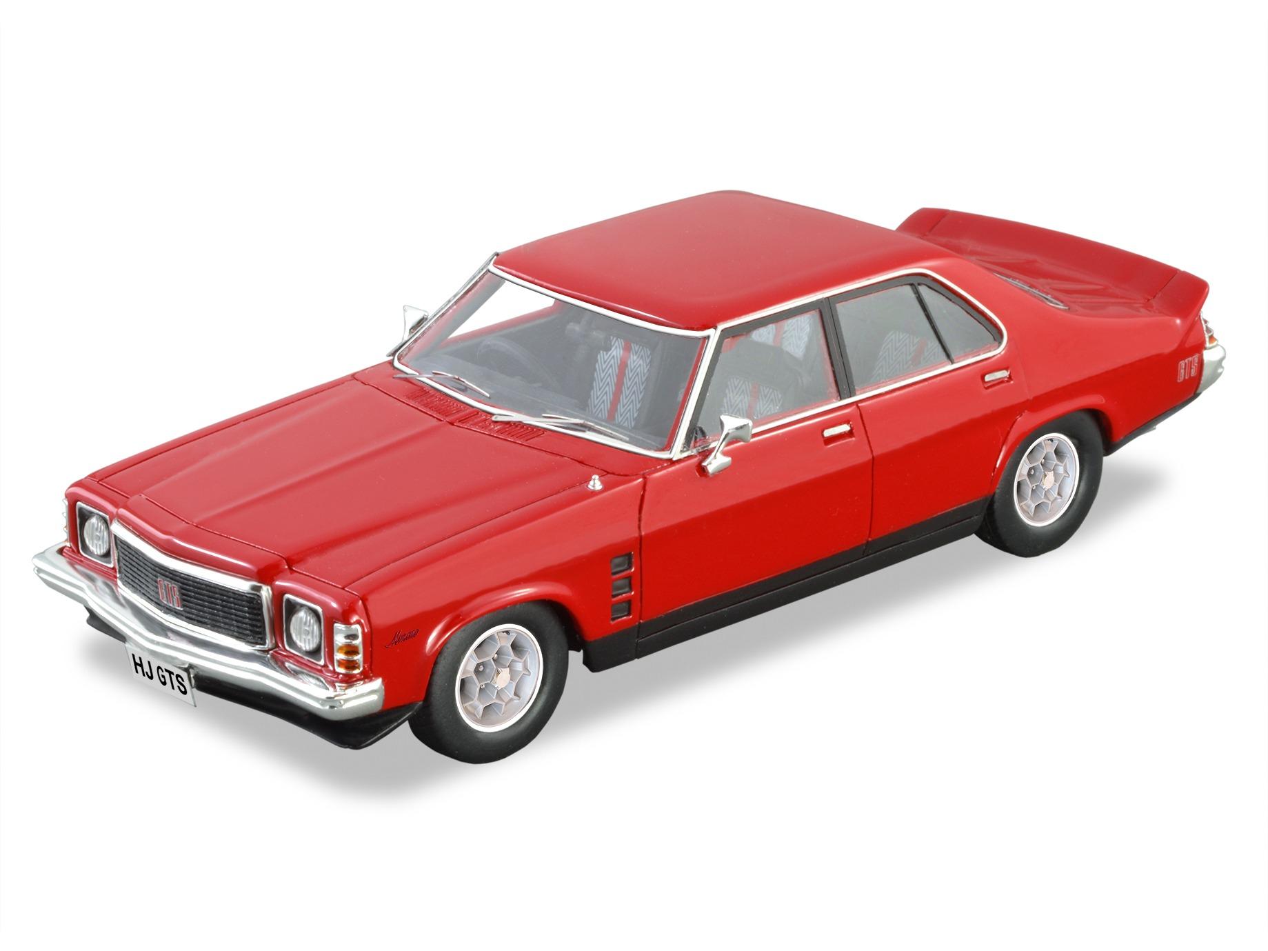 1975 Holden HJ Monaro GTS Sedan – Red
