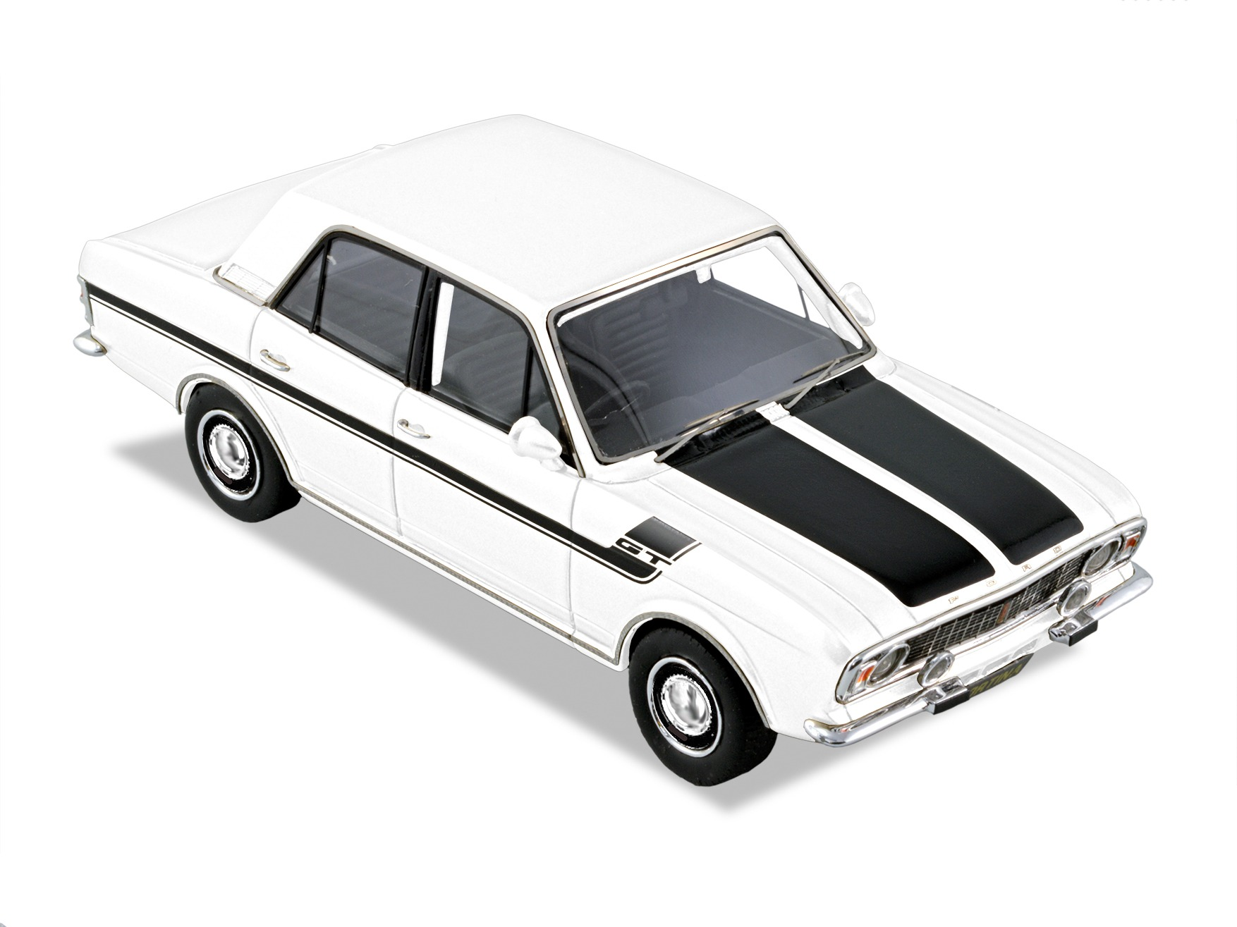 Ford Cortina GT MKII – White/Black